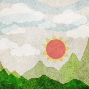 summer view paper